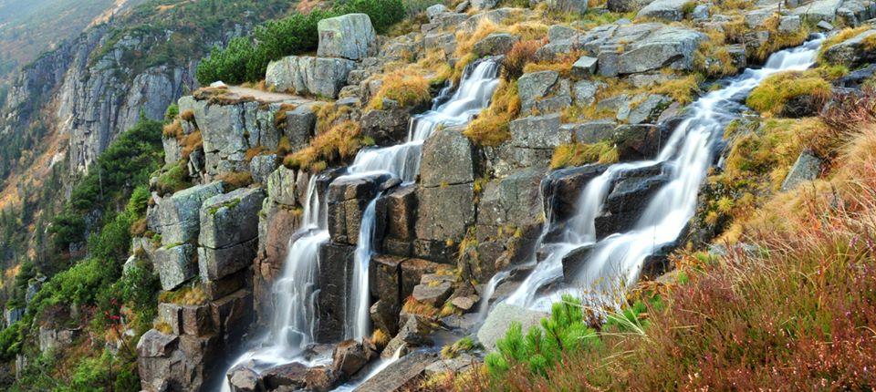 Wodospad Panczawy wKarkonoszach