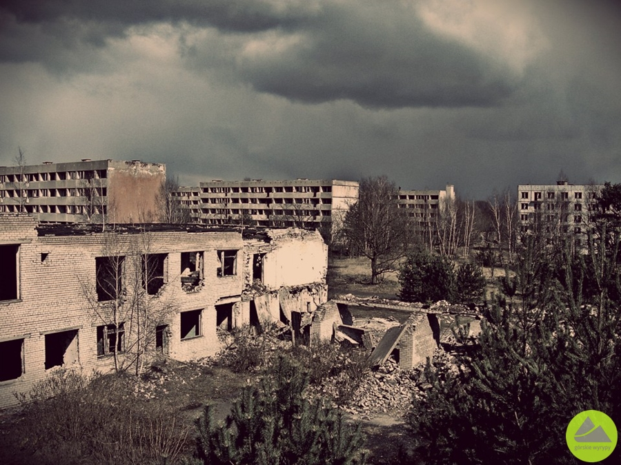 Pstrąże, urbex, eksploracja, miasto duchów, polska prypeć