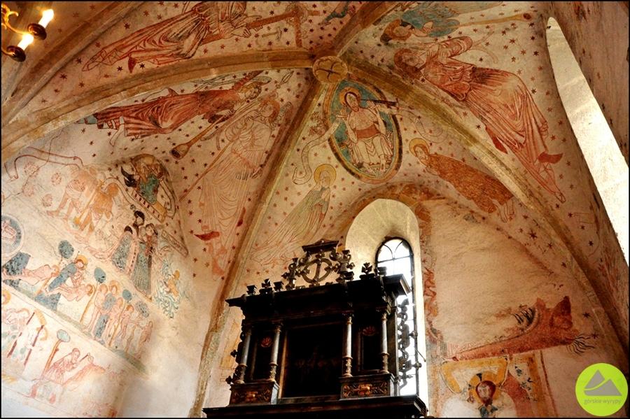 średniowieczne freski