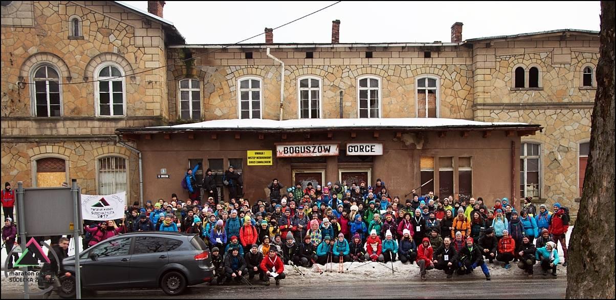 2. Maraton Pieszy Sudecka Żyleta - nastarcie wBoguszowie-Gorcach