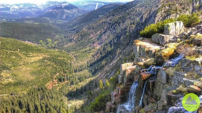 Wodospad Panczawy - wdrodze naMedvedin