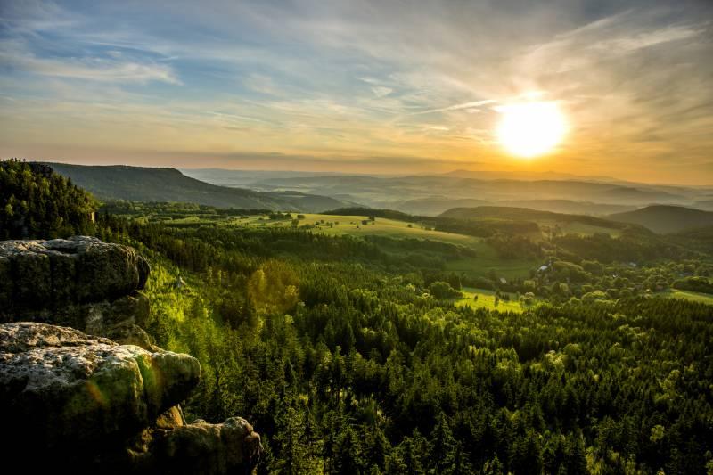 Góry Stołowe, Park Narodowy Gór Stołowych, fot. euroregion-glacensis.ng.pl