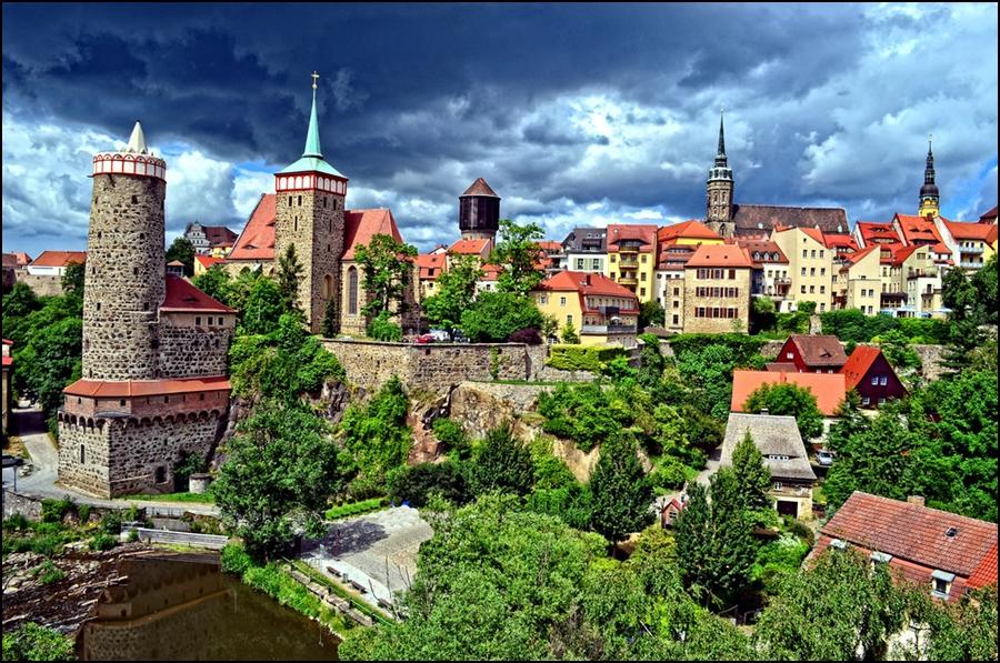 Widok na Bautzen, konkurs urodzinowy Górskie Wyrypy