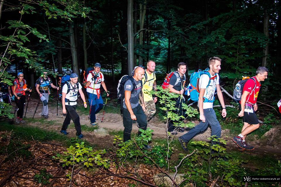 """5. Maraton Pieszy """"Sudecka Żyleta"""", górskie wyrypy, maraton pieszy"""