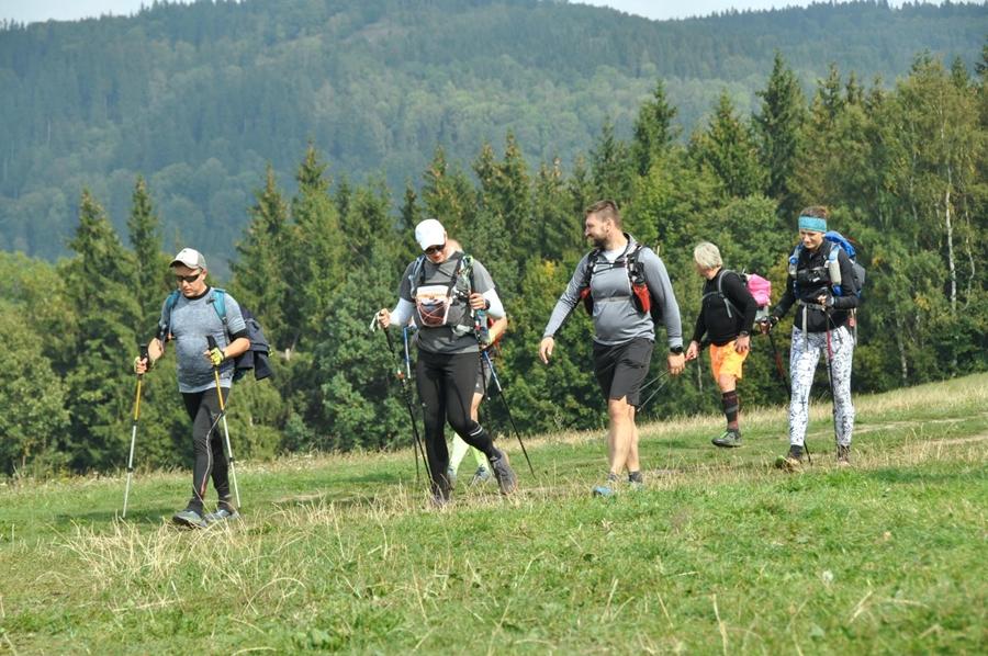 przejście dookoła kotliny jeleniogórskiej, górskie wyrypy, pieszy maraton