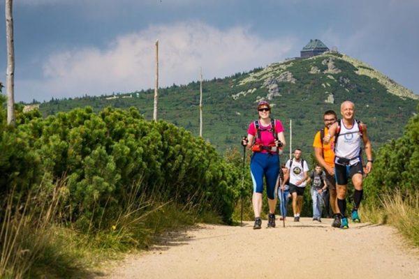 przejście dookoła kotliny jeleniogórskiej, górskie wyrypy, maratony piesze