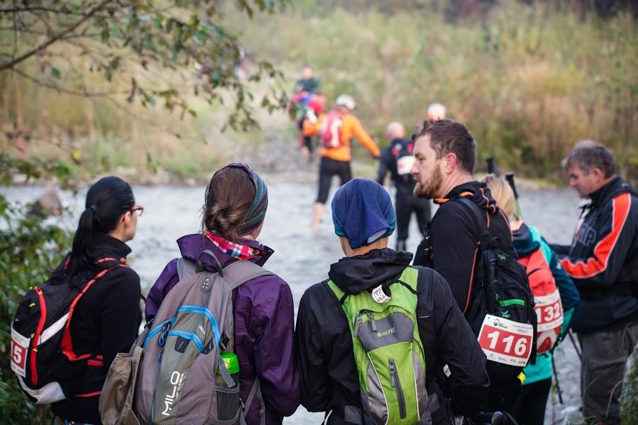 Rajd Waligóry topieszy maraton długodystansowy, natrasie, Górskie Wyrypy