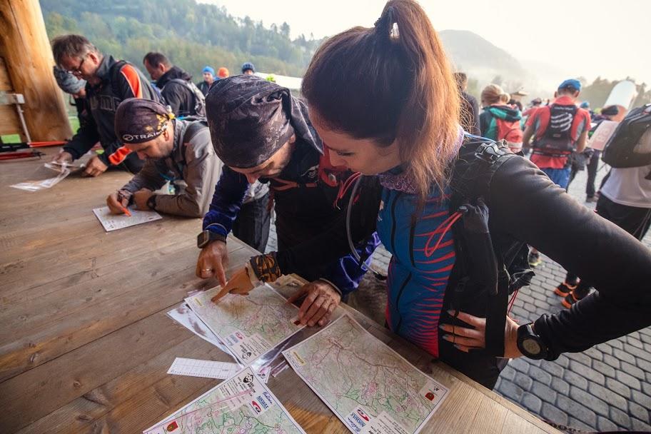 Rajd Waligóry to pieszy maraton, start, Górskie Wyrypy