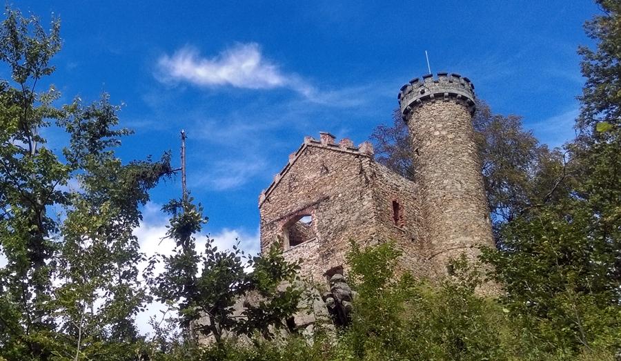 zamek księcia henryka, górskie wyrypy