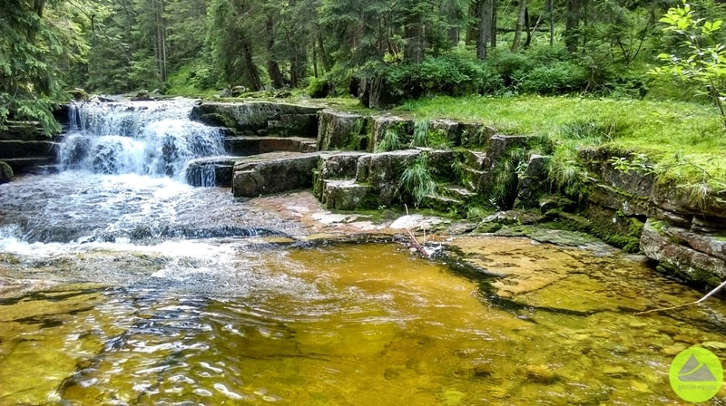 Wodospad Mumlawy, Mumlawski wodospad, Karkonosze
