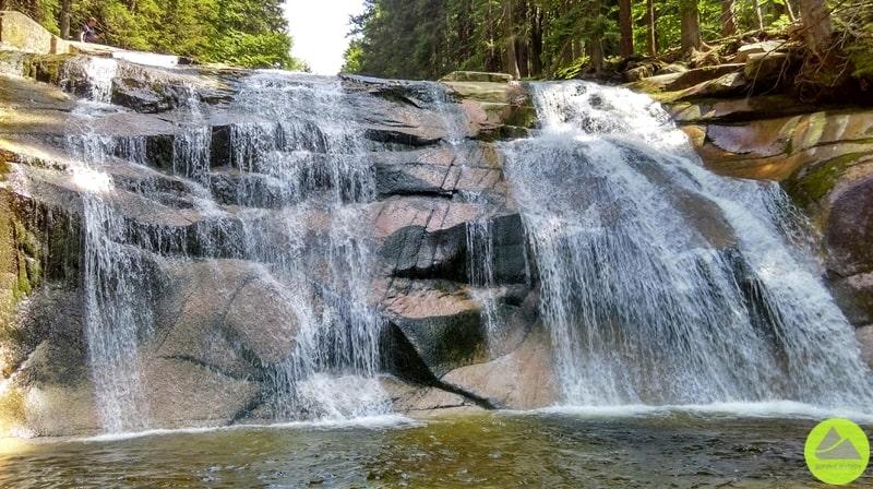 Mumlawski wodospad, Wodospad Mumlawy, Karkonosze