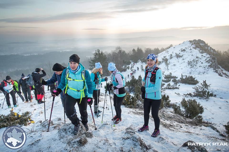 Zimowy Maraton Świętokrzyski, maraton pieszy, górskie wyrypy
