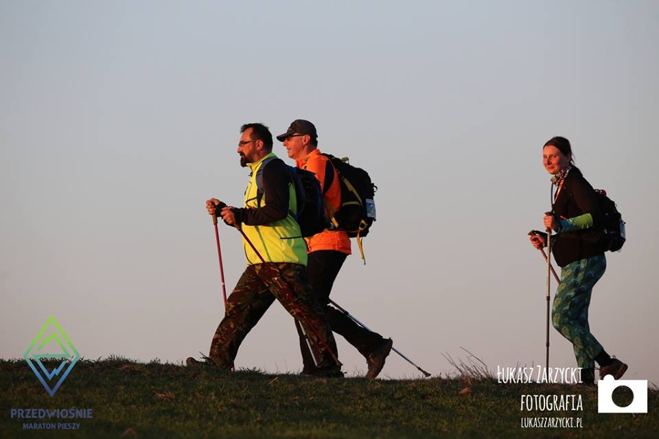 """4. Maraton Pieszy """"Przedwiośnie"""", maraton pieszy, górskie wyrypy"""