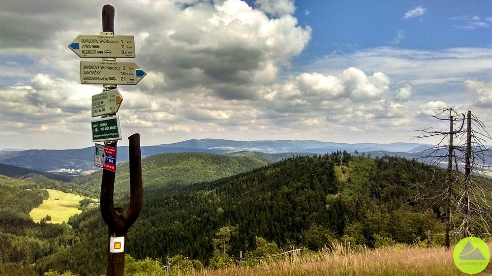 """Maraton Pieszy """"Sudecka Żyleta"""", górskie wyrypy, Ruprechticki Szpiczak"""