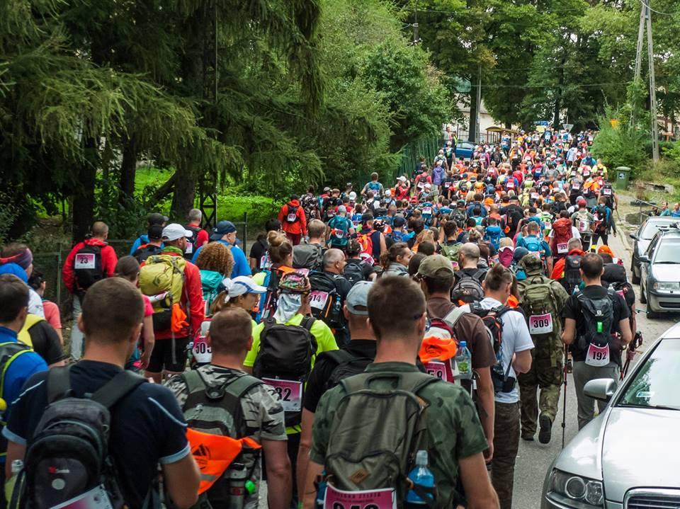 """Maraton Pieszy """"Sudecka Żyleta"""", maratony piesze, baza maratonów, górskie wyrypy"""