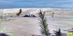 Nowogrodziec. Dolnośląska biała pustynia.
