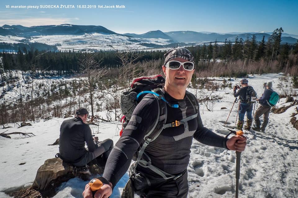 """6. Maraton Pieszy """"Sudecka Żyleta"""", górskie wyrypy, impreza długodystansowa, maraton pieszy"""