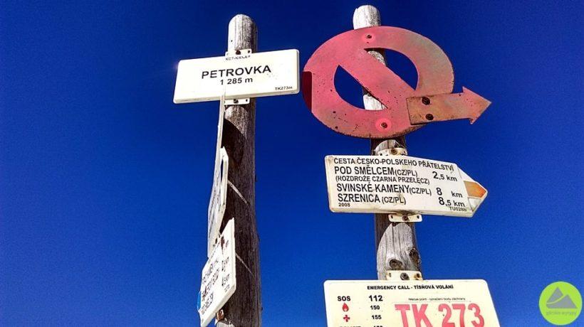 Nieme znaki w Karkonoszach, Karkonosze, Sudety, górskie wyrypy, turystyka