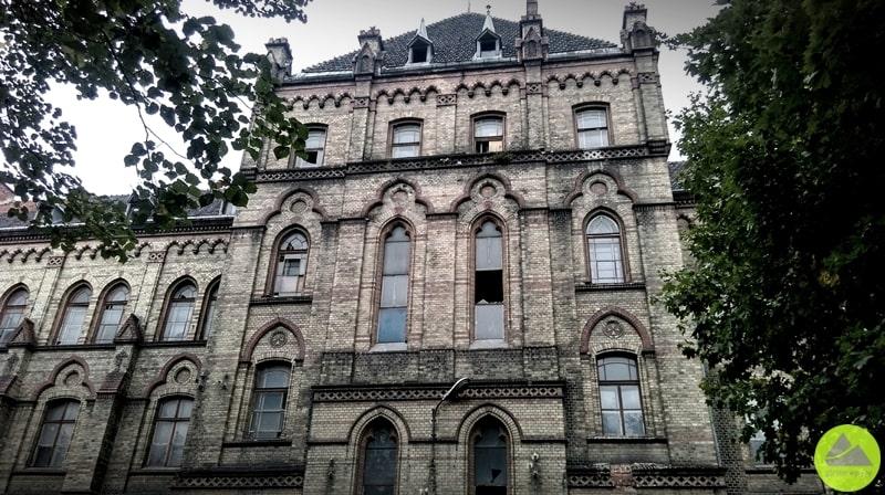 Tajemniczy budynek Dolny Śląsk