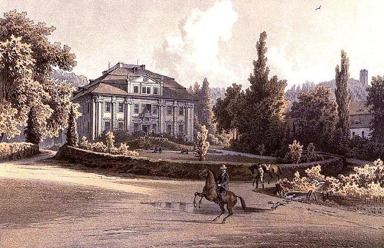 pałac w maciejowej, wieża widokowa w maciejowej, park w maciejowej