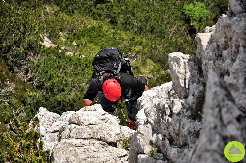 dolomity, via ferrata ettore bovero, via ferrata, góry, outdoor