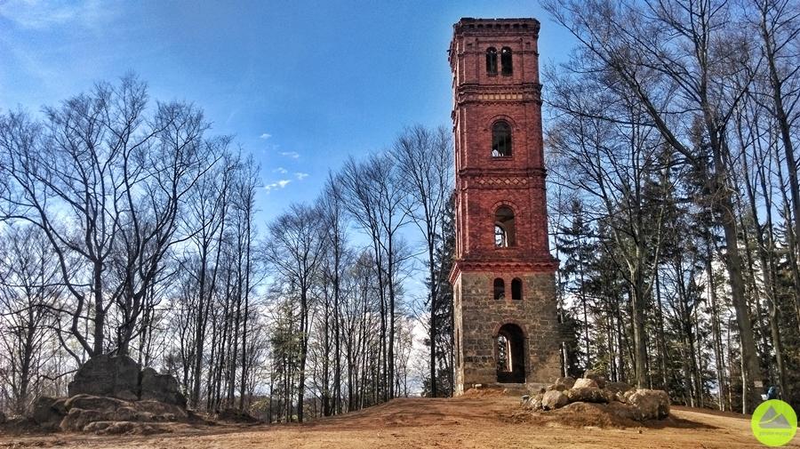 wieża widokowa w sudetach