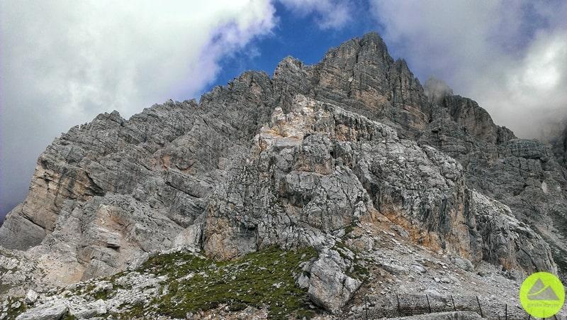 Punta Anna w Tofanach w Dolomitach