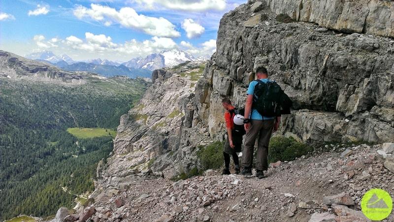 Trekking wMasywie Tofan wDolomitach