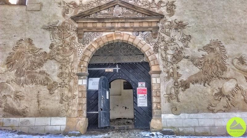 Zamek Grodno wSudetach