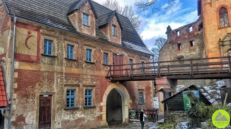 Budynek bramny wZamku Grodno