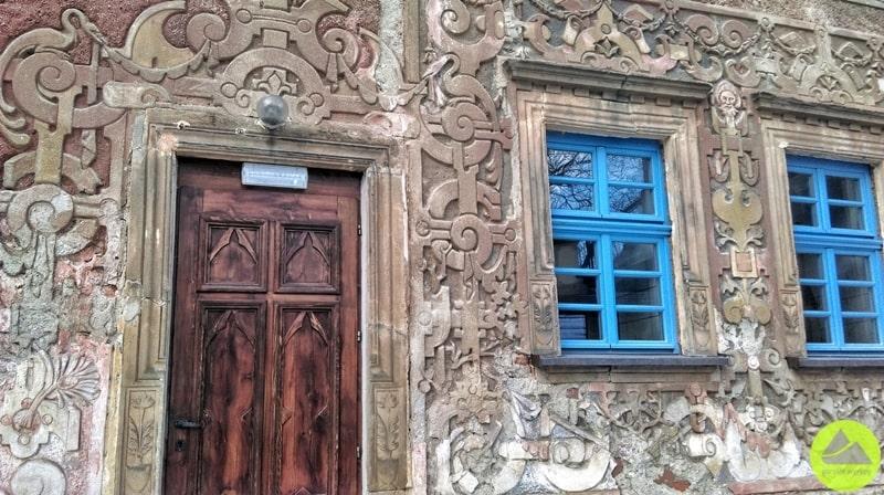 Fasada malowniczego Zamku Grodno