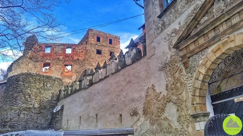 Atrakcja turystyczna Dolnego Śląska Zamek Grodno