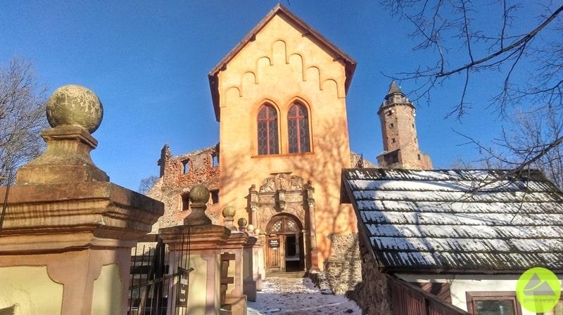 Zamek Grodno wZagórzu Śląskim