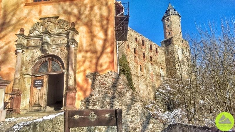 Zamek Grodno irenesansowy portal