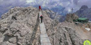 Włochy || Dolomity: via ferrata Ivano Dibona wMasywie Cristallo
