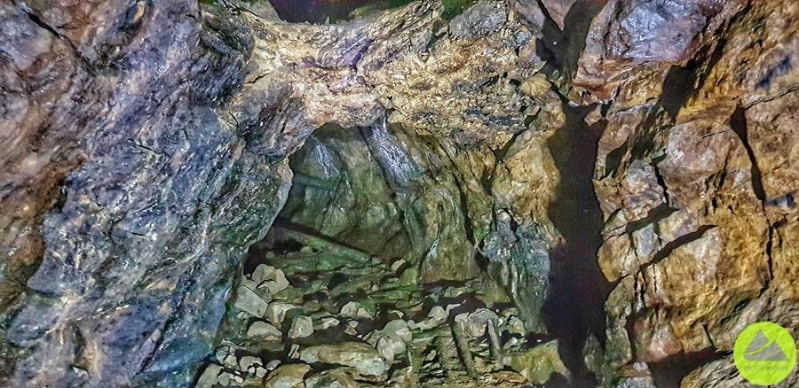 dawme sztolnie kopalni pirytu wszklarskiej porębie