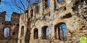 Ruiny zamku wRybnicy. Jedna znajsłabiej poznanych warowni naDolnym Śląsku!