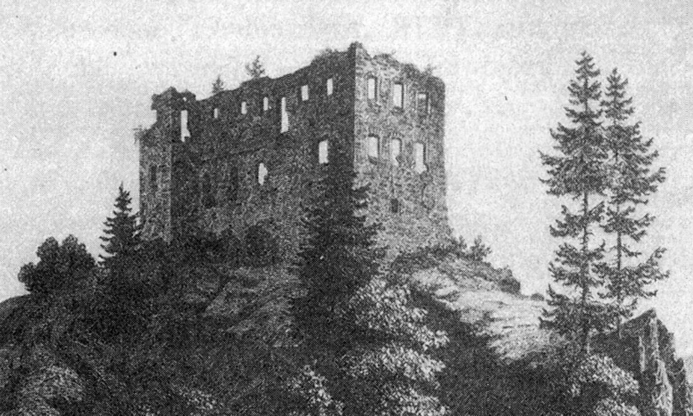 zamek wrybnicy dawniej