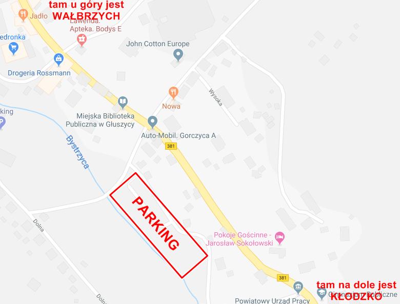 "7. MP ""Sudecka Żyleta"" parking"