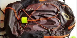 TEST: Plecak biegowy dla piechura? Naprzykładzie plecak Asics Lightweight.
