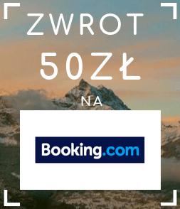 promocja booking.com zwrot 50zł