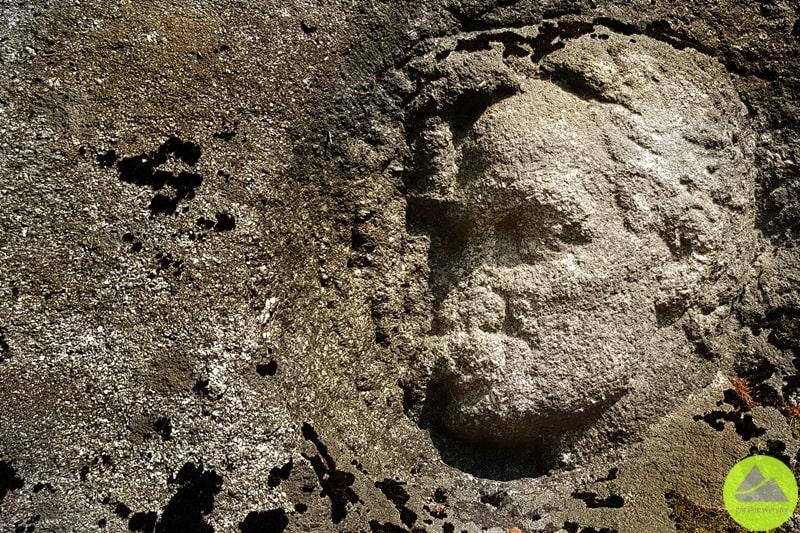 płaskorzeźba Paula Kellera w Karkonoszach