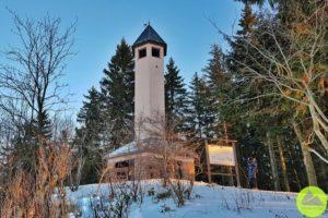 wieża widokowa naWłodzickiej Górze