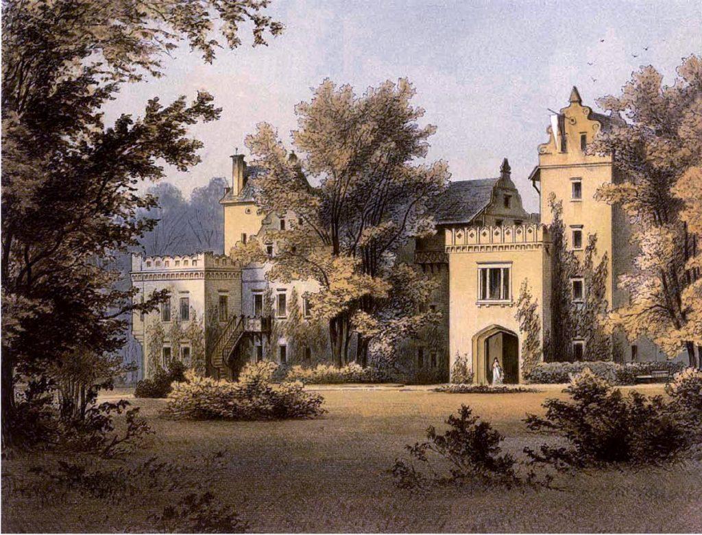 pałac Nowy Dwór wKowarach