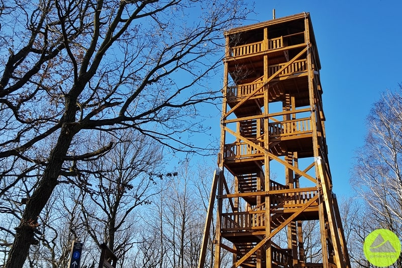 wieża widokowa na Górze Zawadna