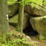 Góra Witosza jaskinia wSudetach