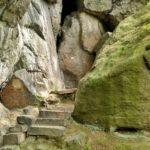 Góra Witosza skały wSudetach