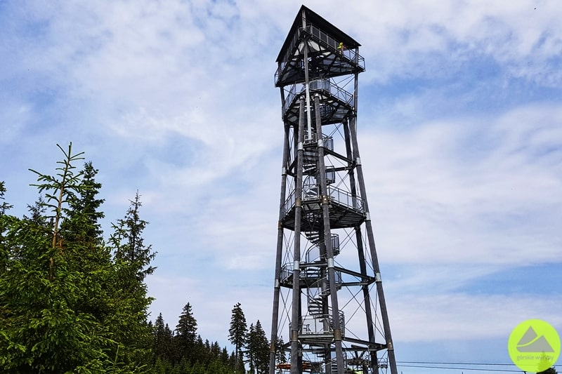 wieża widokowa Hnědý vrch