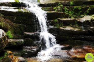 wodospad wKarkonoszach
