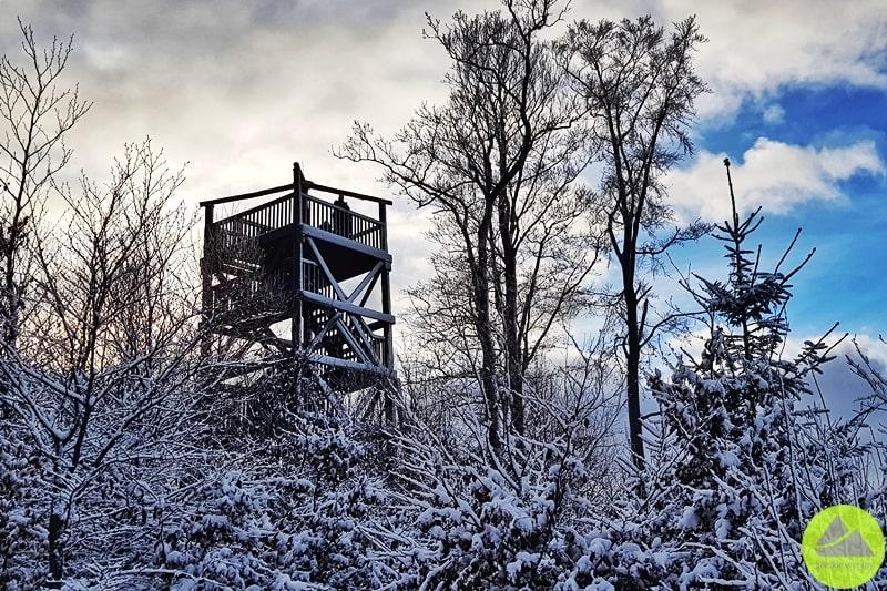 wieża widokowa naDłużku
